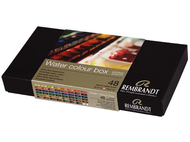 Rembrandt akvarel water color box