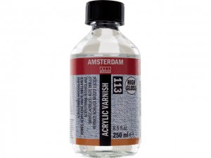 Amsterdam vrlo sjajni akrilik lak 250ml