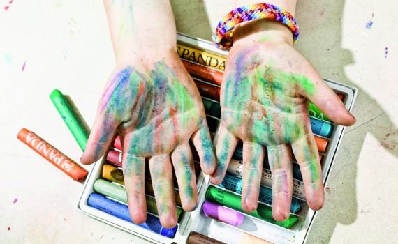 Panda uljani pastel