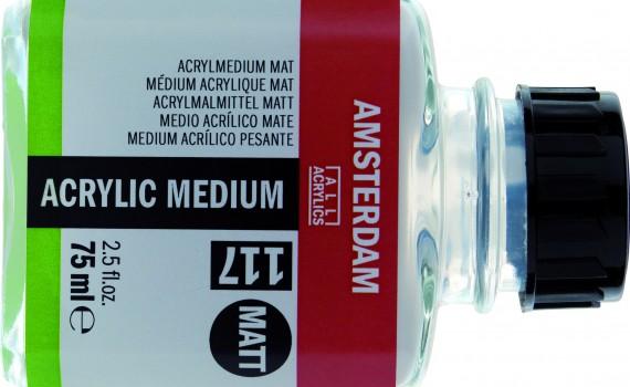 Amsterdam acrilic medium mat