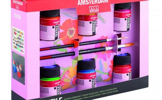 Amsterdam boje za textil