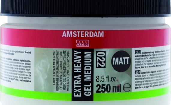 Amsterdam ekstra gust gel medijum mat