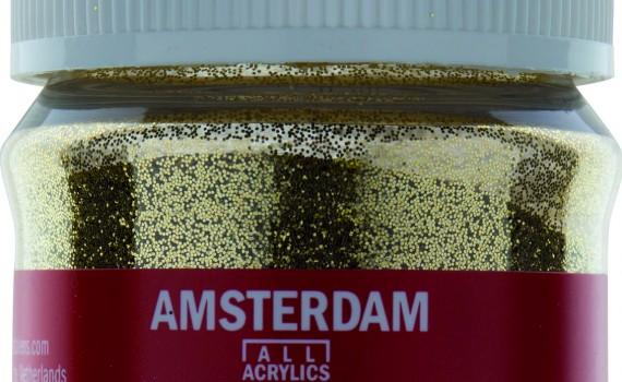 Amsterdam flakes gold