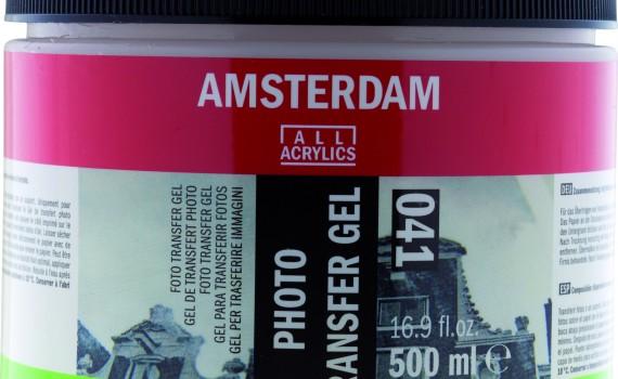 Amsterdam foto transfer gel