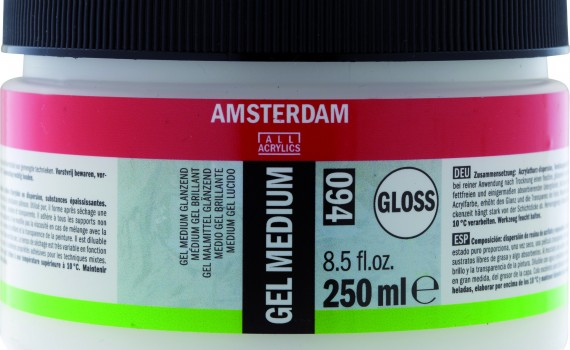 Amsterdam gel medium sjajni