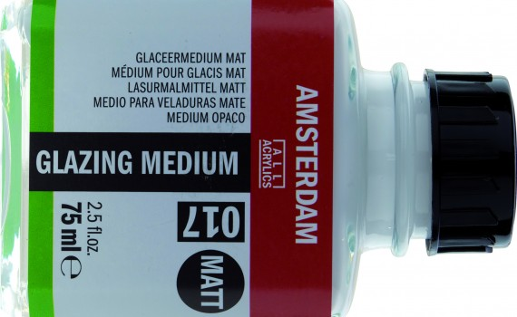 Amsterdam glazing medium mat pozadina