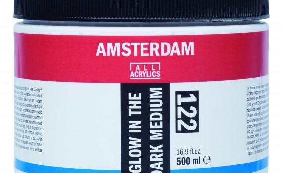 Amsterdam medijum koji svetli u mraku