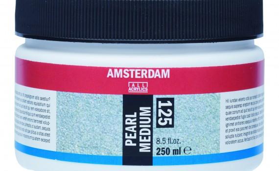 Amsterdam sedefasti medijum