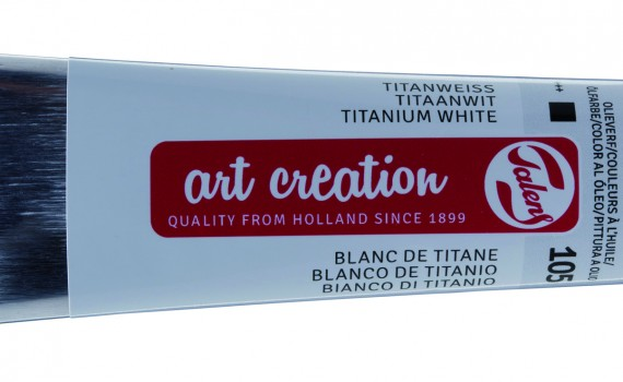 Art Creation titan bela uljana boja 40 ml